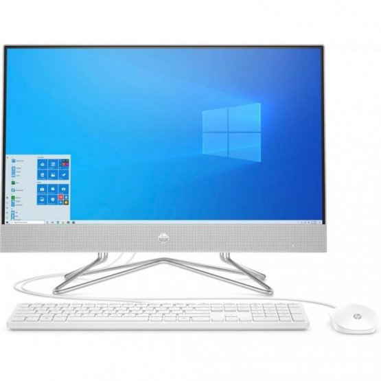 ПК-моноблок HP All-in-One 23.8FHD IPS AG/Intel i5-10400T/8/1000/int/kbm/DOS/White